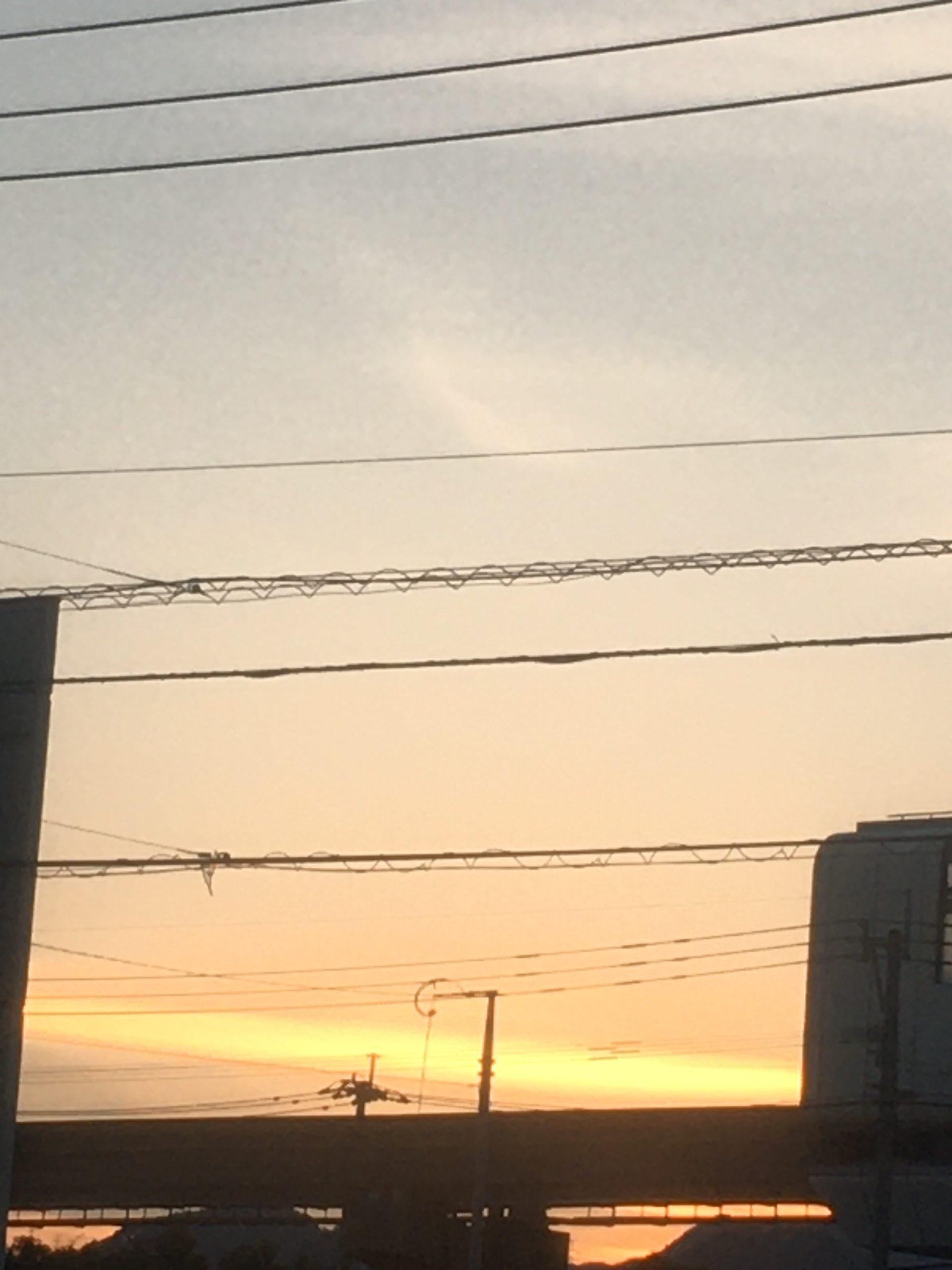 福岡の夕日20201018
